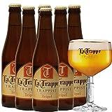 La Trappe Tripel Trappistenbier aus Niederlande (6 x 0,33l Flaschen) Alc 8% Vol (24)