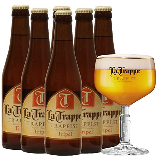 La Trappe Tripel Trappistenbier aus Niederlande (6 x 0,33l Flaschen) Alc 8% Vol (6)