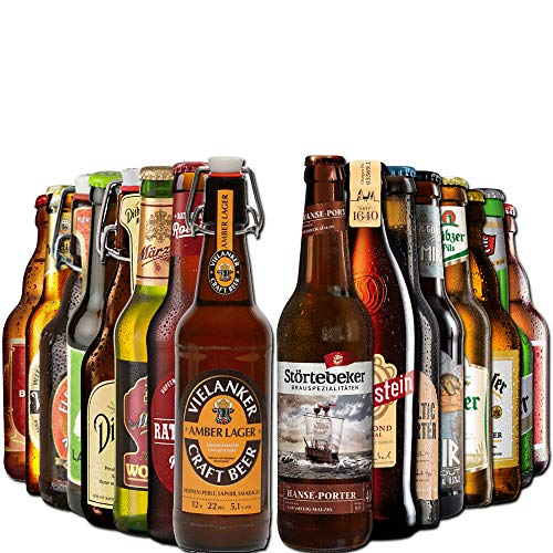 Nord Bierpaket von BierSelect - tolle Biere aus Norddeutschland - Top Geschenk zum Geburtstag,...