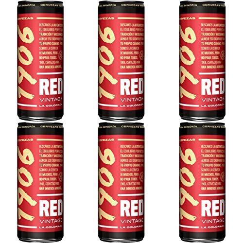 1906 RED VINTAGE Bier 7.0% Alkohol. Dosen 330 ml. bier dose, biere der welt, bier set, geschenke...