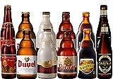 Belgische Starkbier Paket: 12 x 33cl (6 x 2 Bierflaschen von St. Bernardus Prior, Duvel, Gulden...