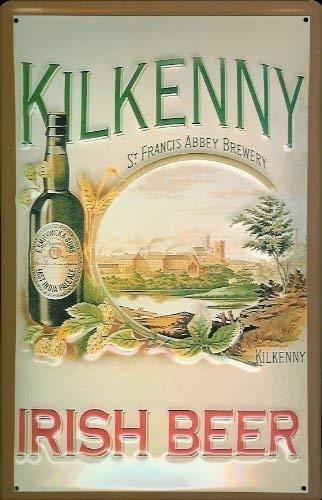 Kilkenny Irish Beer Blechschild Schild Blech Metall Metal Tin Sign 20 x 30 cm