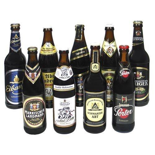 Schwarzbier Bierset (9 Flaschen / 5,2% vol.)
