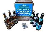 Geschenkbox bayerische Bierbox mit 6 Flaschen feinster Biere aus Bayern á 0,5 Liter