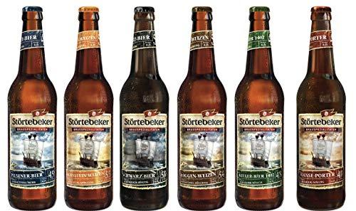 6 Flaschen Störtebeker Schatzkiste a 0,5L inc. 0.48€ MEHRWEG Pfand Bierspezialitäten