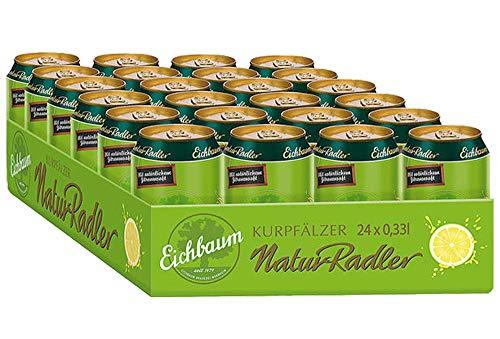 Eichbaum Kurpfälzer NaturRadler (24 x 0,33l Dose) - inkl. 6 Euro DPG Pfand - EINWEG