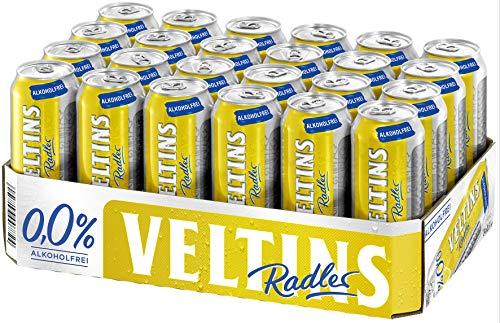 VELTINS Radler Alkoholfrei 0,0 %, EINWEG (24 x 0.5 l Dose)