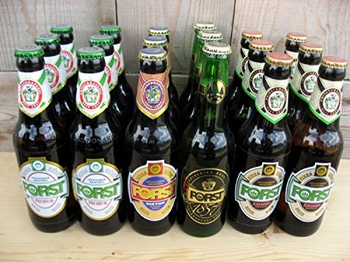 Südtiroler Bier Set Forst 18 x 330 ml.