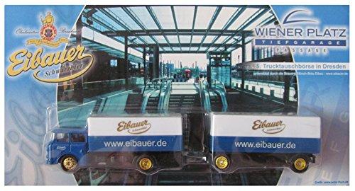 Eibauer Münch-Bräu Nr. - 5. Trucktauschbörse in Dresden - Skoda - Hängerzug Oldie