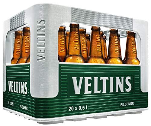 VELTINS Pilsener, MEHRWEG (20 x 0.5 l Kasten)