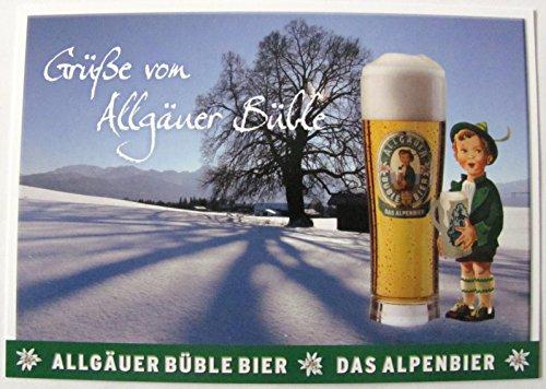 Allgäuer Brauhaus - Büble Bier - Grüße von Allgäuer Büble - Postkarte - Motiv 12