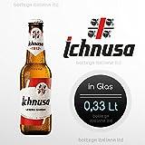 Birra Ichnusa 0,33 Lt (05 Flaschen) -Bier aus Sardinien