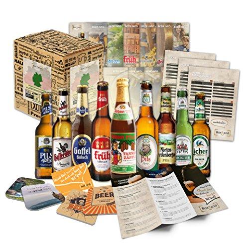 Beste deutschen Biere als Bier Geschenkset Geburtstagsgeschenk Papa Geburtstagsgeschenkidee Männer...