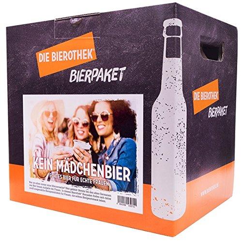 Bierothek® Bierpaket Kein Mädchenbier (12 Flaschen Bier | außergewöhnliches Geschenk für...