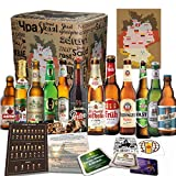12x Deutsche Bierspezialitäten'BIER TASTINGBOX DEUTSCHLAND' + 4 BIERDECKEL + BIER TASTINGANLEITUNG,...