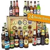 24 Biere aus der Welt/Geschenk Box + Bier/Geschenkidee Männer