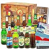 12x Bier aus der Welt & Deutschland/Geschenk Set/Geburtstagsgeschenk Bier