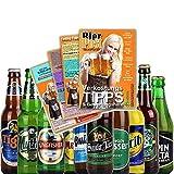12er Bierset - BIERE AUS ALLER WELT - mit Verkostungstipps und Bewertungsbogen - von BierPost.com je...