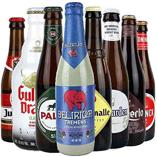 8er Bierset 'BIERLAND BELGIEN' je 0,25 bis 0,33l - von.BierPost.com