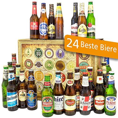 Geschenke für Männer / 24x Biere aus der Welt/Geburtstagsgeschenke Männer