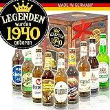 Legenden 1940 | Biere aus Deutschland | Geschenke 80. Geburtstag