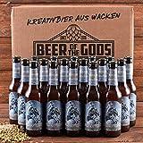 18 x Weizendoppelbock Craft Beer 0,33l Wacken Brauerei - Beer of the Gods - Craft-Beer Set...