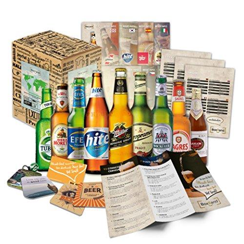 Biere der Welt Bier Probier Paket Ostergeschenkidee für Freund Ostergeschenk für Freund oder...