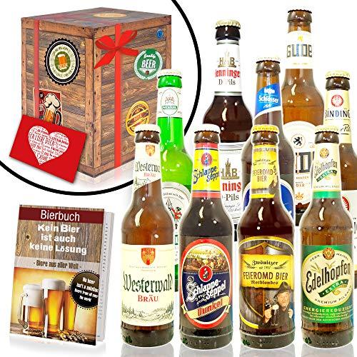 Bier Geschenk Set/Deutsche Biersorten/Geburtstag Geschenkset