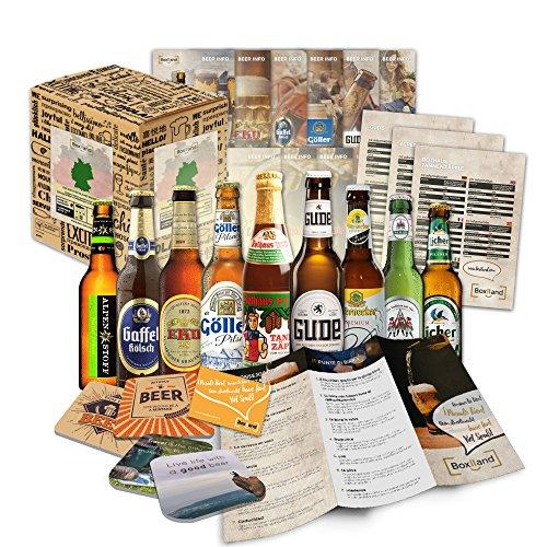 Bier Spezialitäten aus Deutschland (Die besten deutschen Biere) als Probierpaket zum Verschenken in...