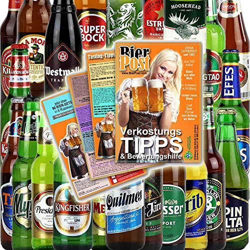 24er Bierset - BIERE AUS ALLER WELT - Biere der Welt - von BierPost.com