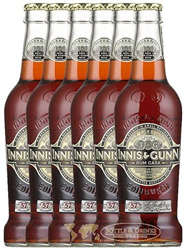 Innis & Gunn Oak Aged Rum Finish Bier 6 x 0,33 Liter