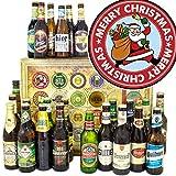 Weihnachtsmann - 24 Biere aus der Welt und D - Weihnachten Ehefrau/Adventskalender Bier Männer