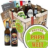 Bester Papa Bier Set / Beste Biere Deutschlands / Geburtstagsgeschenke für Papa