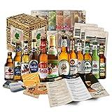 Weihnachtsgeschenke für Männer Papa Biere Deutschlands (6x0,33l) Geschenkidee Weihnachten |...