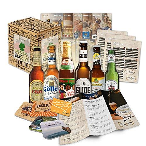 Bier Spezialitäten aus Deutschland (die besten deutschen Biere) als Probierpaket zum Verschenken...