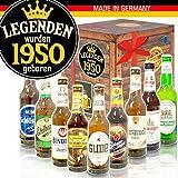Legenden 1950 | Deutsche Biere | Präsentkorb 70. Geburtstag