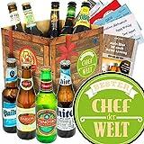 Bester Chef/Biersorten der Welt/Geschenke Chef