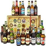 24x Bier aus aller Welt/Bier Geschenk Set/Geschenkeset Geburtstag Freund
