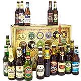 Bier Adventskalender Welt und Deutschland + 24 Flaschen Bier + Geschenk mit Bieren aus aller WELT &...