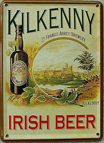 Mini-Blechschild Kilkenny Irish Beer, 8 x 11 cm