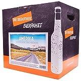 Bierothek Bierpaket Amerika (12 Flaschen Bier | außergewöhnliches Geschenk)