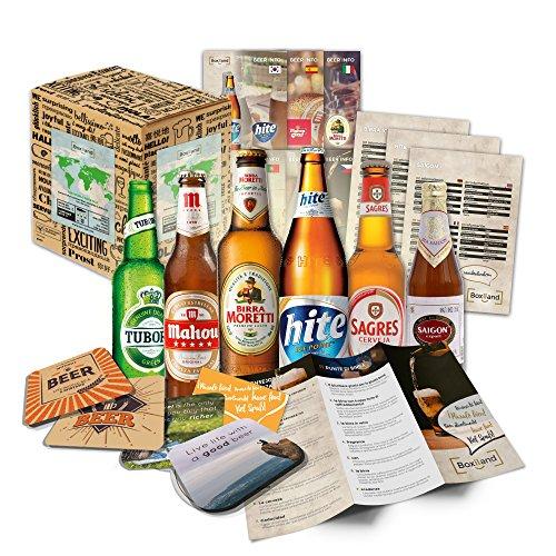 Biere der Welt (6 x 0,33l) internationale Bier Spezialitäten zum verschenken (Beste Biere der Welt...