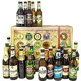 24er Bier Geschenkset/Biere der Welt und Deutschland/Geburtstag Geschenk