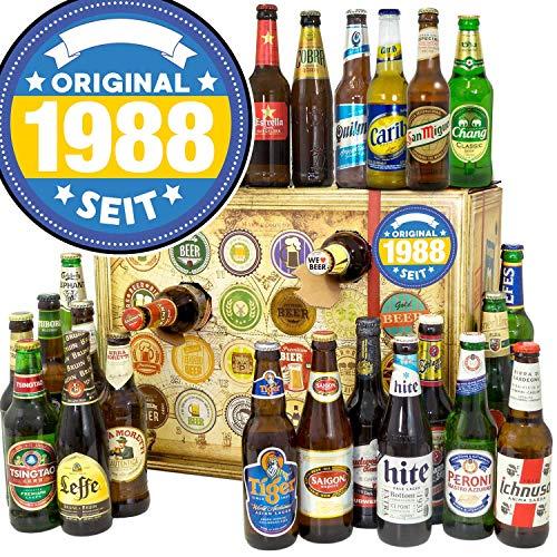 Original seit 1988 + 24 Biersorten aus aller Welt im Adventskalender + 24 Biere aus der Welt