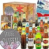 Frohe Ostern - Geschenke zu Ostern Eltern - Biere aus aller Welt 12x