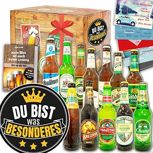 Du bist Besonders ++ 12x Biere Welt und DE ++ Geschenke Paare