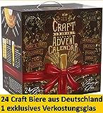 Kalea Craft Bier Tasting Kalender 2019, 24 x 0,33 l Craft Beer aus Deutschland, Geschenkidee zur...