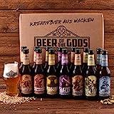 Wacken Brauerei Göttergabe Craft Beer Paket - 14 x Beer of the Gods 0,33l inkl. Craftbeer Glas -...