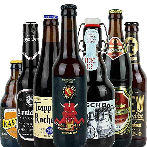 7er Bierset - STARKES STÜCK - mit Verkostungstipps und Bewertungsbogen - von.BierPost.com