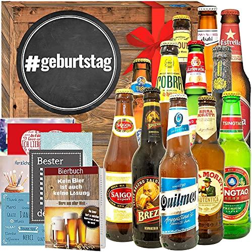 geburtstag/Geschenkidee zum Geburtstag/Biere der Welt